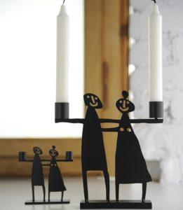 Kerzenhalter Paar