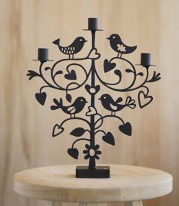 Kerzenhalter Lovebirds