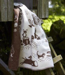Decken gebürstete Baumwolle
